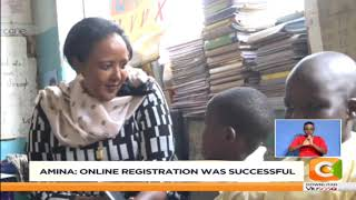 Amina:  83% of students have been admitted