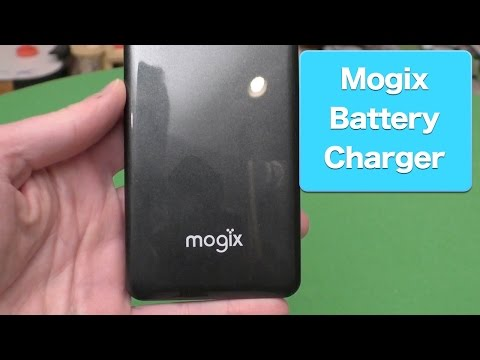 Mogix External Battery Charger Review, Dual Port USB Fast Charger