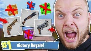 GREY GUNS ONLY CHALLENGE!! - FORTNITE BATTLE ROYALE!! thumbnail