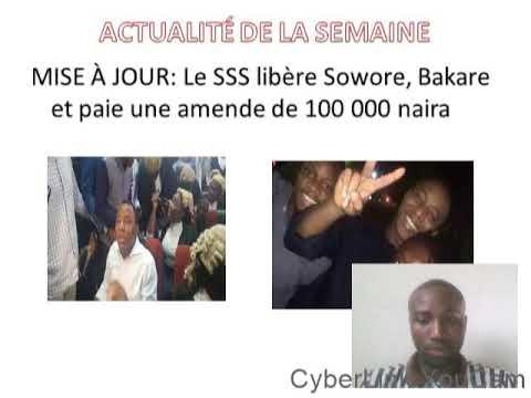 finalememt Sowore est libre, la joie partout au nigeria