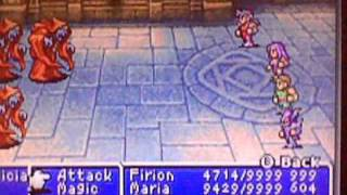 Final Fantasy II Level up trick