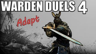 [For Honor] Warden Duels 4 - Dealing with Nobushi