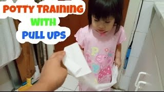 Potty Training With Pull Ups
