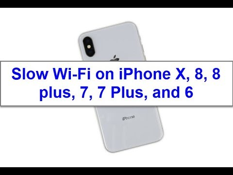 iPhone X, 8, 8 Plus, 7, 7 Plus, and 6 WiFi slow on iOS 11? Here's the fix