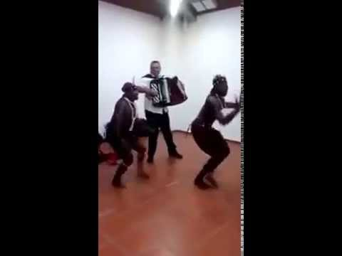 africans danciong on macedonia music funny video