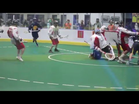 Lyle Thompson Box Lacrosse Highlights - LYLE DOES BOX