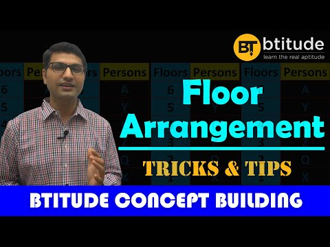 #Floor_Arrangement_Reasoning_Puzzle_Tricks_ BANK, SSC, CMAT, UPSC, GPSC, CAT, SNAP & MBA Entrances from YouTube · Duration:  38 minutes 34 seconds