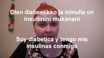 Diabetes on kehnoa matkaseuraa