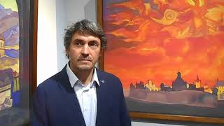 Андрей Люфт о выставке ''Восхождение'' и дневниках Е.И.Рерих
