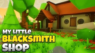 my little blacksmith house brand new update let s play my little blacksmith shop gameplay