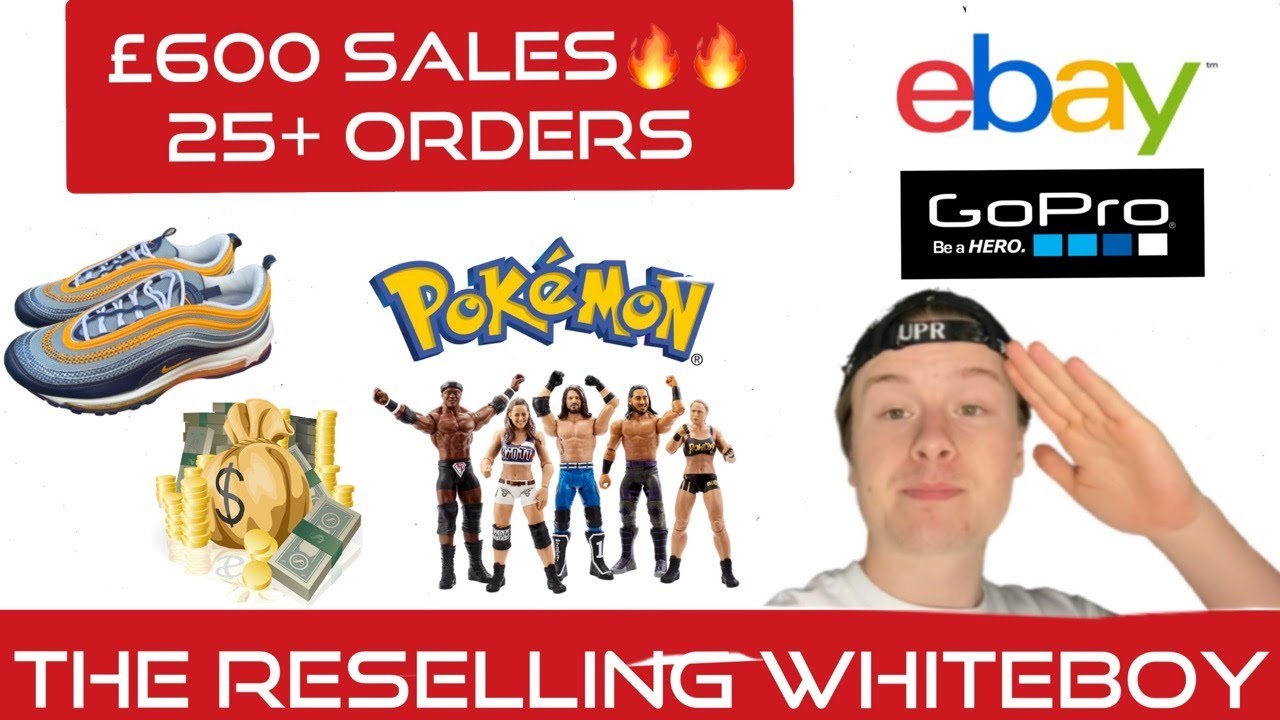 600 Sales Picking My Orders 1 What Sold On Ebay Uk Reseller Making Money Online From Home Youtube