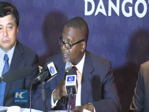 Chinese firm and Nigeria's Dangote ink 1.5-bln-dollar deal to build cement plant