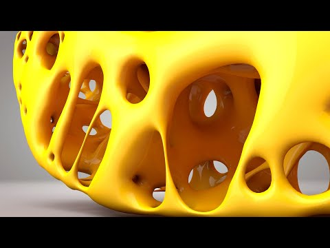 Cinema 4D - New Style Of  Voronoi Fracture Tutorial thumbnail