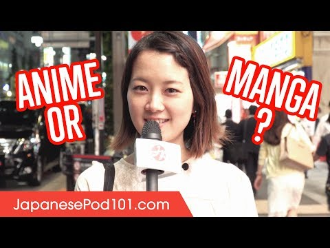 What is Japanese People favorite Anime?