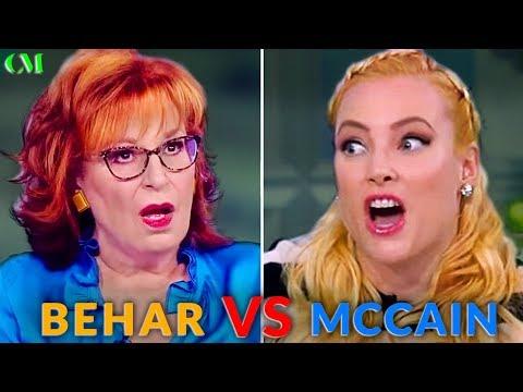 Joy Behar VS Meghan McCain: ALPHA BATTLE Analysis