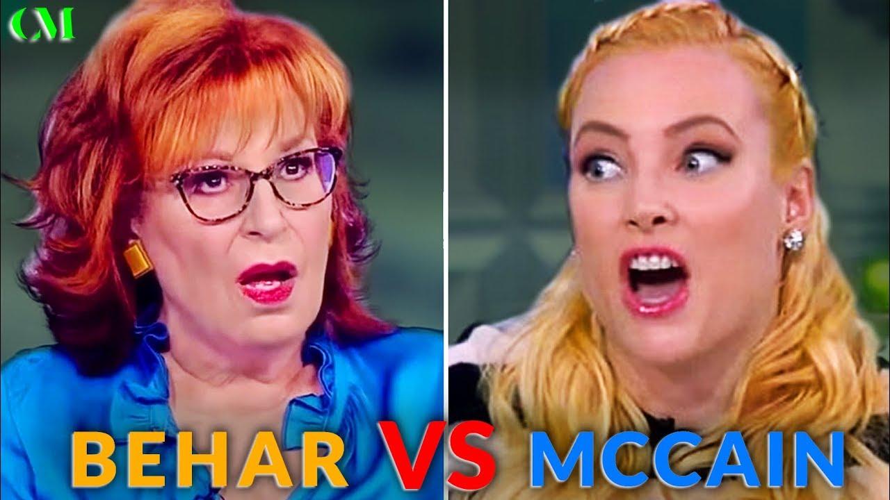 joy behar vs meghan mccain alpha battle analysis youtube