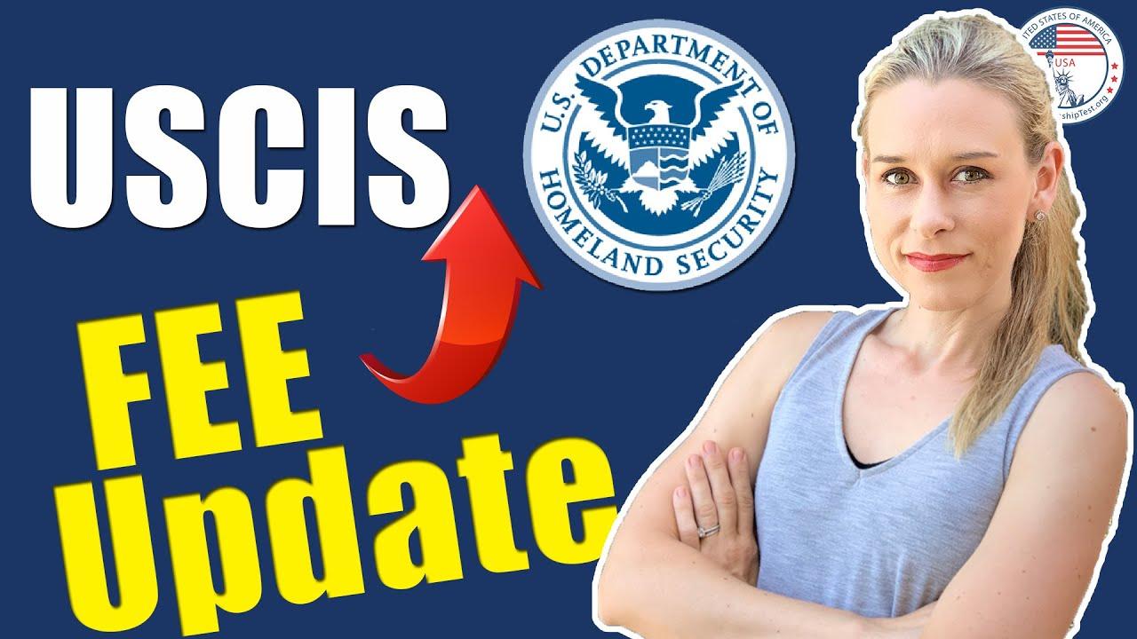 Official USCIS FEE INCREASES PUBLISHED LATEST UPDATE |  I-130, I-485, N-400, I-526, I-751, I-129