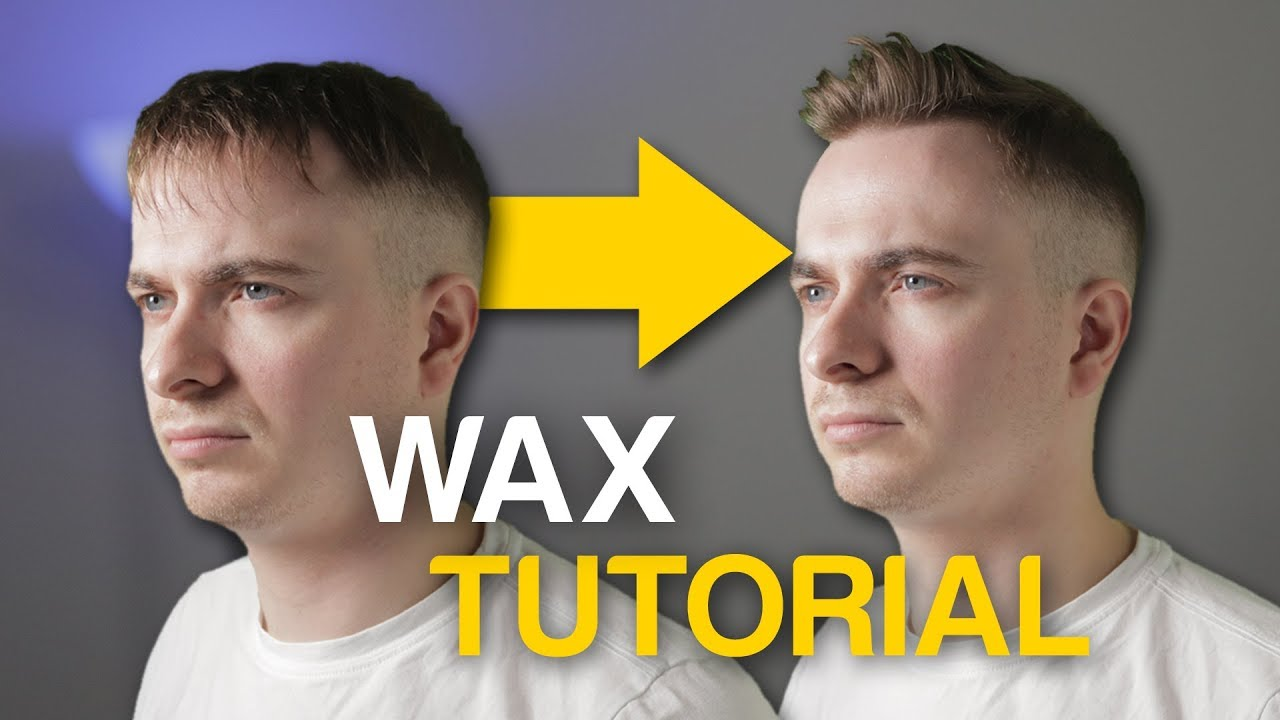 How To Use Hair Wax Properly Tutorial Youtube