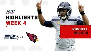 Russell Wilson Highlights vs. Cardinals | NFL 2019