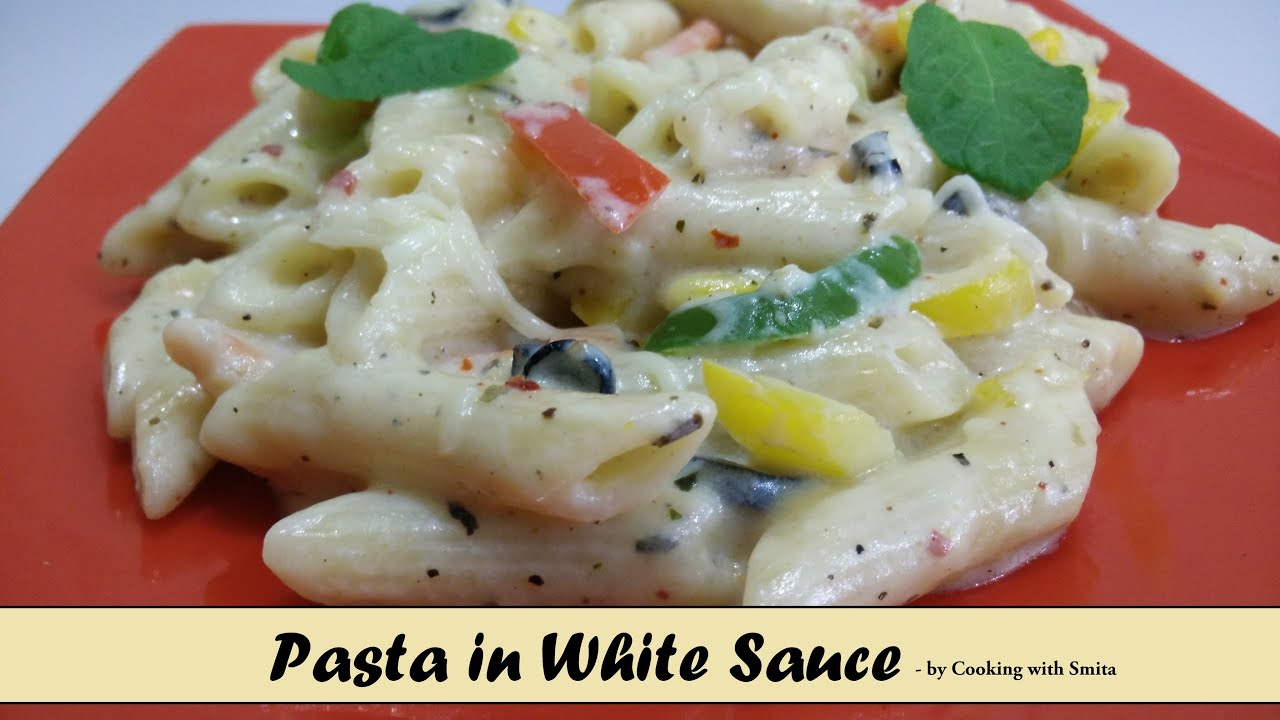 Pasta in white sauce recipe in hindi by cooking with smita its youtube uninterrupted forumfinder Image collections