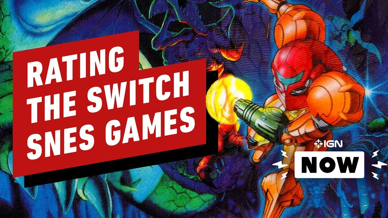 Rating All 20 SNES Games on Switch - IGN Now