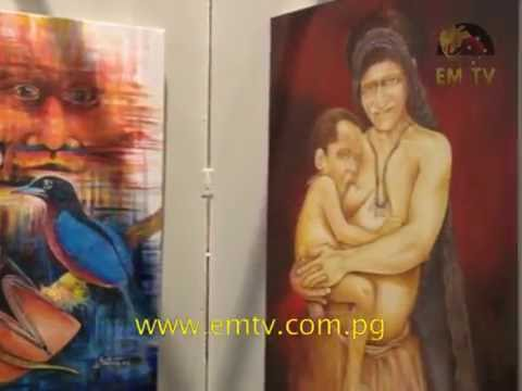 PNG Artists Show Off Stunning Pieces at Exhibition