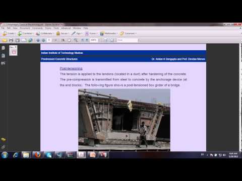 lecture 7 pre+ post tension force +systems  design of bridges by CSI BRIDGE 15 - AASHTOO 2007