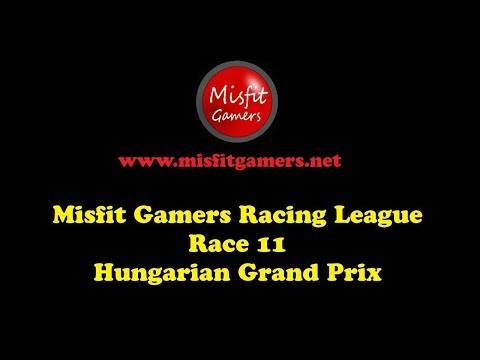 F1 2017 Misfit Gamers Hungarian Grand Prix
