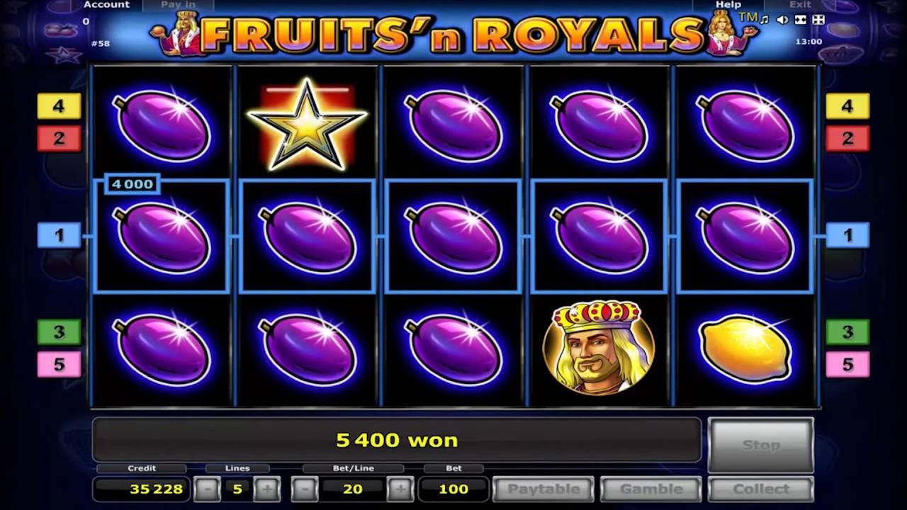 Fruits n royals описание игрового автомата