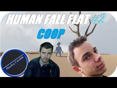 HUMAN FALL FLAT #2 LIVE - COOP GABBAL!