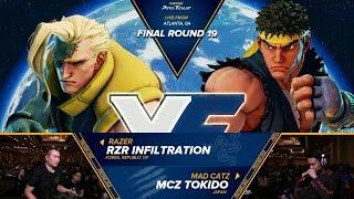 sfv rzr infiltration vs mcz tokido final round 19 grand final cpt 2016