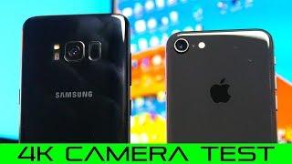 iPhone 8 vs Samsung S8 - Camera Comparison