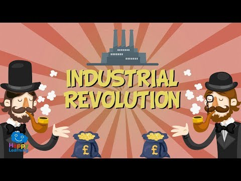 INDUSTRIAL REVOLUTION | Educational Video for Kids.