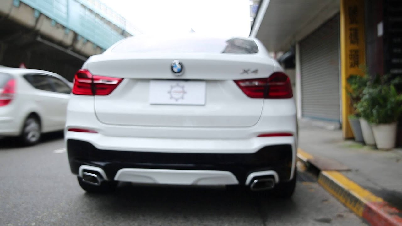 Bmw M Performance Exhaust F26 X4 35i Youtube