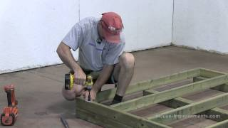 How To Build A Shed   Part 1 Building The Floor