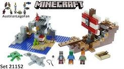 Lego Minecraft 21152 The Pirate Ship Adventure - Lego 21152 Speed Build