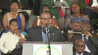 President Kagame Officiates The 3rd Graduation Ceremony Of The University Of Rwanda