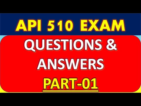 API 510 Pressure Vessel Exam_Questions And Answers