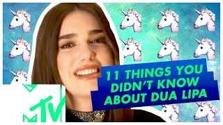11 Things You Didn't Know About Dua Lipa!!   MTV