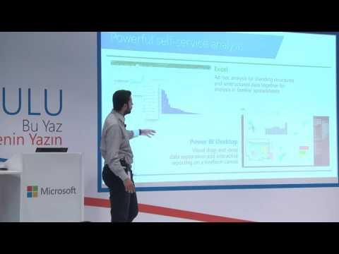 Microsoft Türkiye Yaz Okulu - Önder Erünsal & Oğulcan Bayram Power BI Eğitimi 1 - 19.08.2016