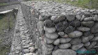 Габионы в ландшафтном дизайне: как сделать своими руками, камни для конструкции, матрасно-тюфячные сооружения, фото, видео