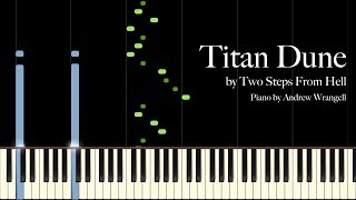Titan Dune by Two Steps From Hell (Piano Tutorial)