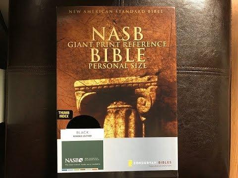 NASB Giant Print Bible Review