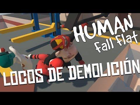 LOCOS DE DEMOLICIÓN | HUMAN FALL FLAT Multi C/ None y Zellen