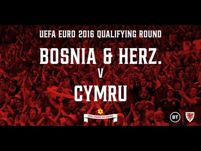 Bosnia Herzegovina v Wales - 10.10.2015 (EURO 2016 Qualifying Round Full Re-Run)