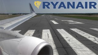 Ryanair Boeing 737-8AS | FR2787 Rodez to London Stansted | Full Flight