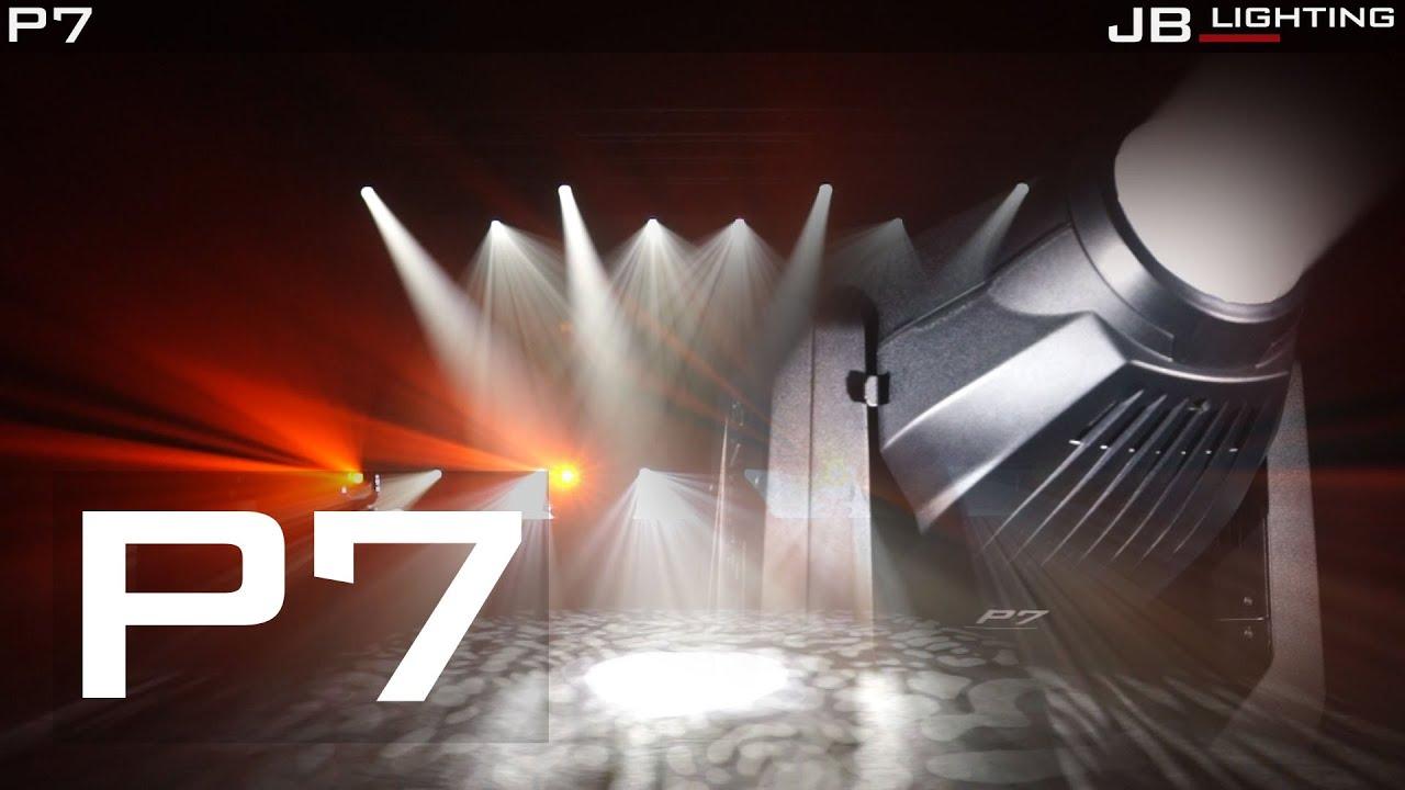 jb lighting p7 led cmy spot product video youtube. Black Bedroom Furniture Sets. Home Design Ideas