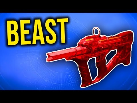 THIS GUN IS A CLOSE RANGE MONSTER! (Destiny 2 - Red Mamba PvP Gameplay)