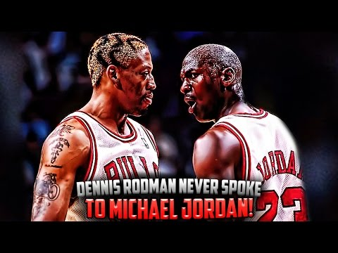 How Dennis Rodman NEVER Talked To Michael Jordan and Scottie Pippen!