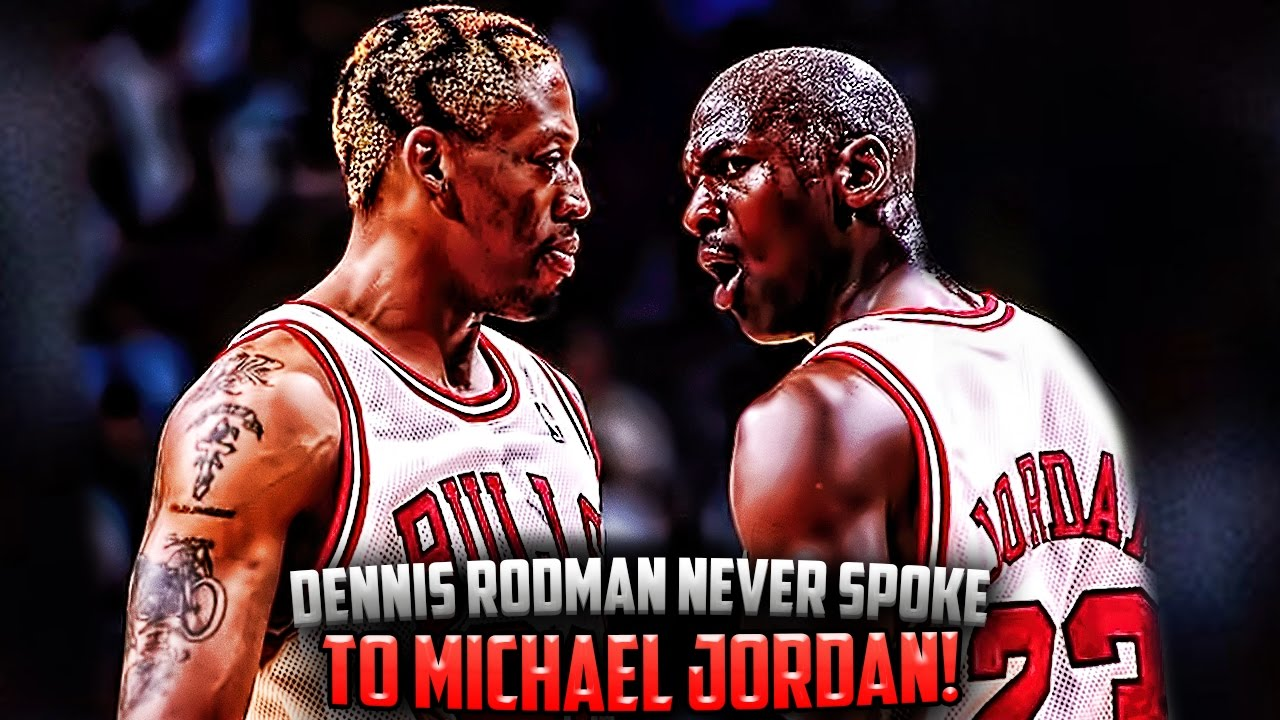 How Dennis Rodman NEVER Talked To Michael Jordan and Scottie